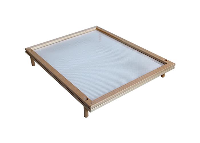 Telaio in legno con rete per essiccare for Personalizzate case con telaio